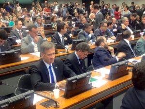 Na última quarta-feira, 23, o Deputado Federal Aluisio Mendes participou da reunião da Comissão Especial da Câmara dos Deputados que analisa o projeto das Dez Medidas de Combate à Corrupção.Em sua a ...