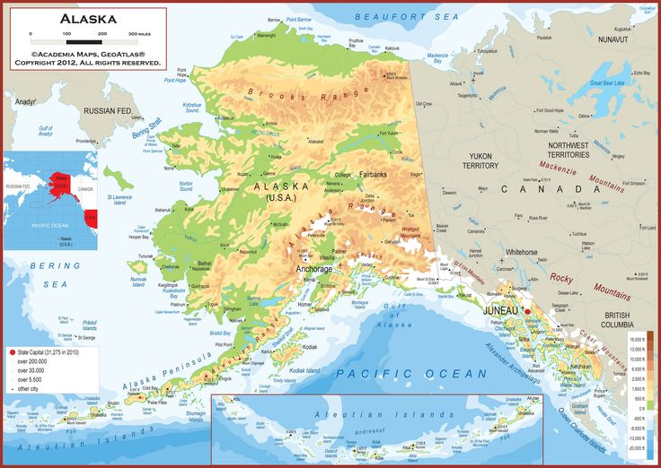 Best Alaska Images On Pinterest Alaska Alaska Usa And Maps - Alaska usa map