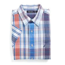 Slim Fit Ensign Plaid Short Sleeve Shirt - Lakeside Blue Wash. Get Sizzling discounts up to 50% Off at Nautica using Coupon and Promo Codes.