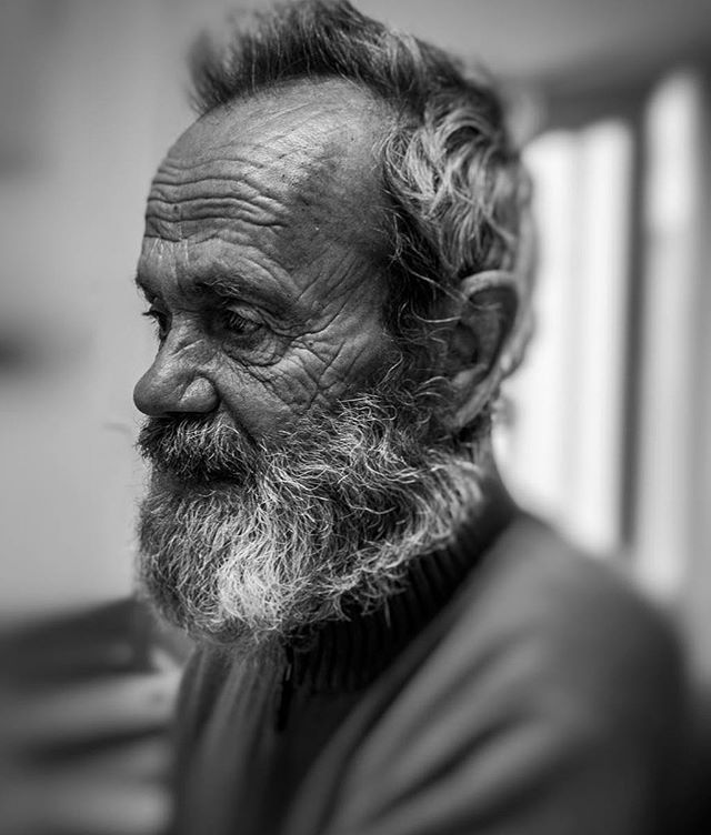 """""""There was a story etched in each wrinkle on his forehead-the stories any long life can amass but that only a lonely life locks forever."""" Ashay Abbhi :: :: :: :: :: :: :: #portraits #portrait #makeportraits #profile_vision #life_portraits #postthepeople #artofvisuals #photographyislife #photographysouls #bnw_captures #bnwmood #bnw_society"""