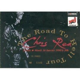 Chris Rea - Billet De Concert (Zenith 1990)