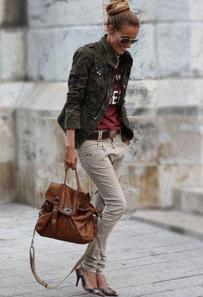 Zara  Jackets, Bershka  Harem / Baggy Pants and Hakei  Bags