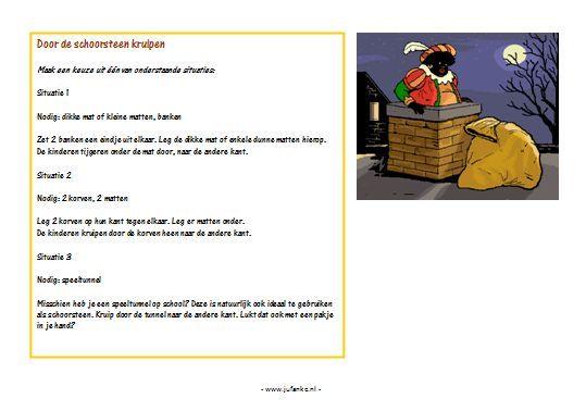 Sinterklaas kleuters   Juf Anke - lesidee en thema kleuters