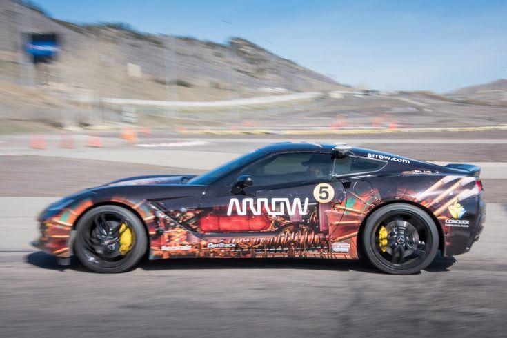 #IoT Arrow Electronics Enhances Semi-Autonomous Motorcar to Drive at Sonoma Grand Prix  #smartcar
