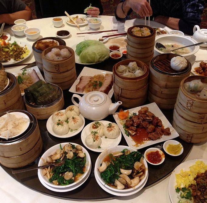 Dim sum lunch of champions at the awesome Floata restaurant in #Vancouver. Superb food.