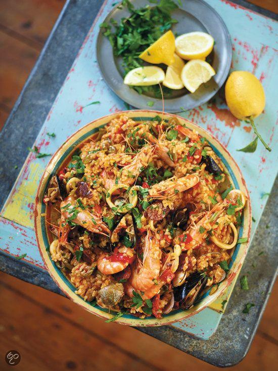 #Paella met Philips Jamie Oliver HomeCooker