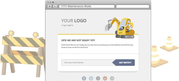 YITH Maintenance Mode | Your Inspiration Themes #free #plugin #wordpress #themes