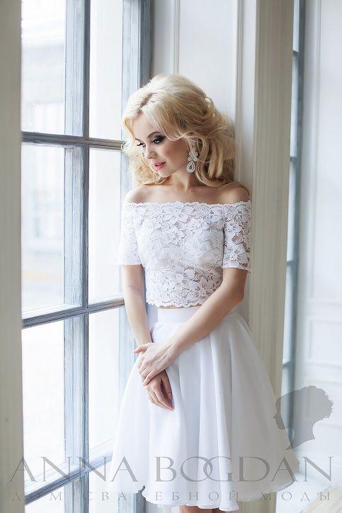 Свадебное платье Anna Bogdan Короткое ― Мы подарим
