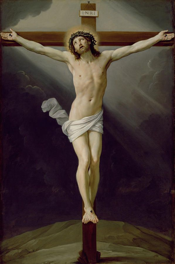 Christ On The Cross Painting