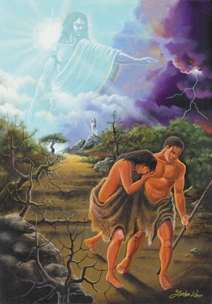 Adam and eve was black