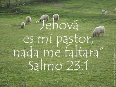 Resultado de imagen para salmo 23 reina valera 1960