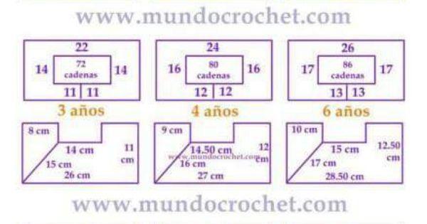 Medidas de canesu tabla | Canesú | Pinterest