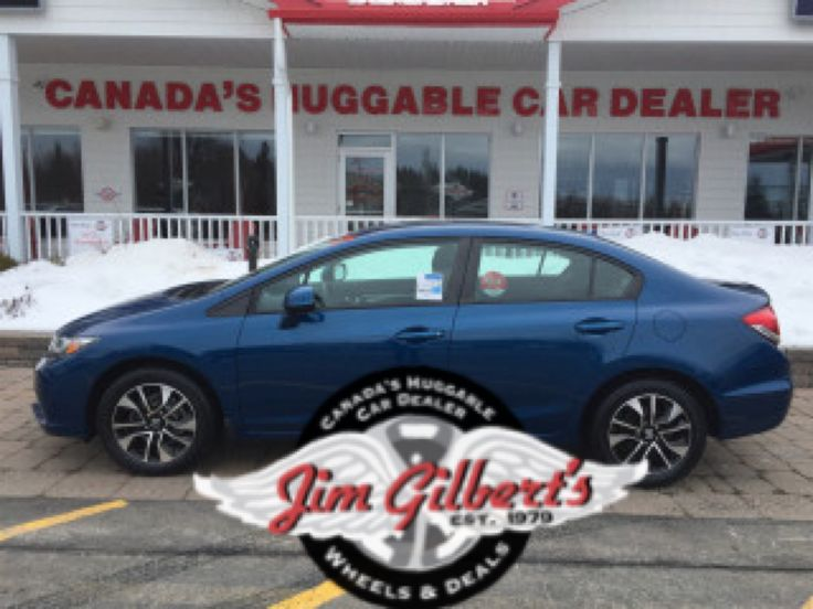 """2013 Honda Civic  EX, Sun-Roof, Heated Seats, Rear Camera, Alloys, New Tires, Only 40000kms!! Factory Warranty Plus Our 12 Month Huggable Guarantee!! COMPARE AT NEW MSRP $24,472.00 """"Pay Less-Owe Less"""" Kilometers: 40719 ONLY $14,477"""