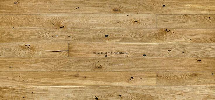 Drevená podlaha Dub Rustik, 1-lamelový vzor, 4V drážka, kartáč, UV olej