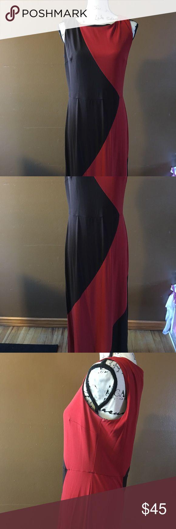 SANDRA DARREN EXTRA LONG MAXI DRESS Size 8 sandra darren Dresses Maxi