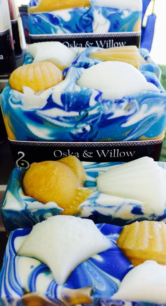 "Oska & Willow - Artisan Soaps ""NOOSA"" - one of our signature soaps made like all of our soaps with lashings of skin loving butters and oils, here at Oska & Willow on the beautiful Sunshine Coast Hinterland, Queensland, Australia FACEBOOK - OSKA & WILLOW. INSTAGRAM - OSKA & WILLOW"