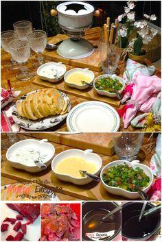 Dica de jantar – Fondue de Carne ao Vinho Aqui em casa quando começa a esfriar, todos começam a querer fondue, nós amamos, pode ser de carne, de peixe, de queijo, de doce de leite, chocolate&…