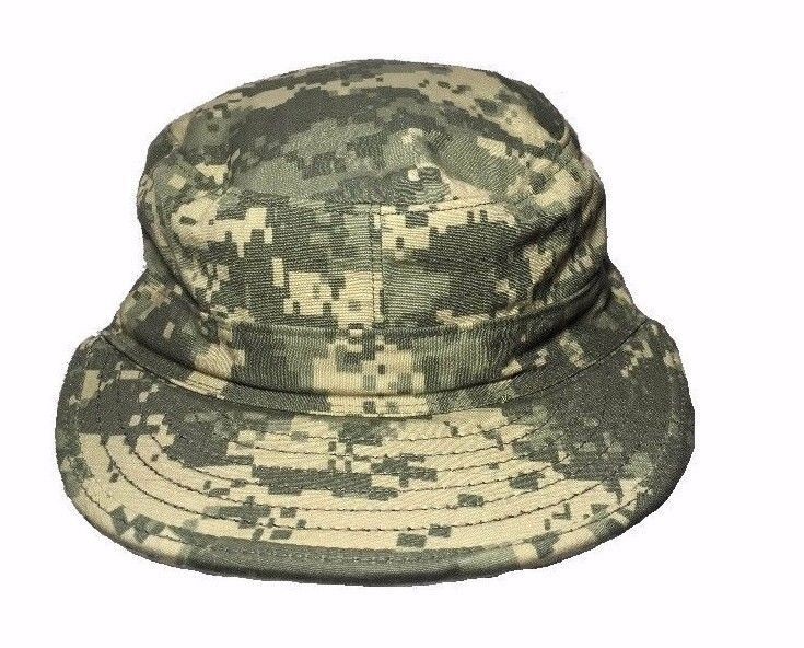US Military Issue Army Combat Uniform ACU Camo Patrol Cap Hat Fitted Size 7 #SEKRIIndustries