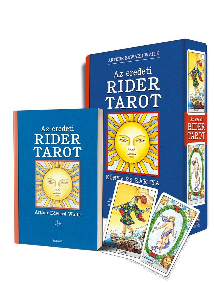 AZ EREDETI RIDER TAROT (kártya és könyv)
