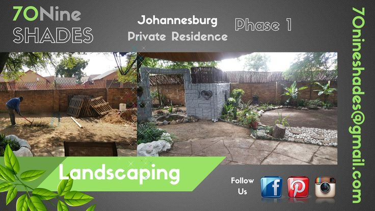 We bring your vision to reality !  Contact us today on : 70nineshades@gmail.com Jaques 071 869 1501  https://www.facebook.com/70NineSHADES/