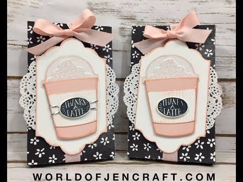 Stampin' Up! Lots to Love Box with Coffee Cafe - YouTube