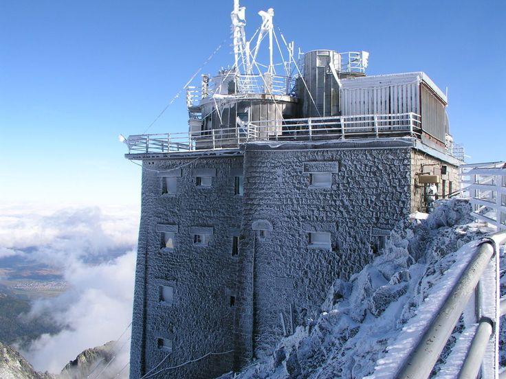 Lomnicky Peak II & observatory, High Tatras, #Slovakia
