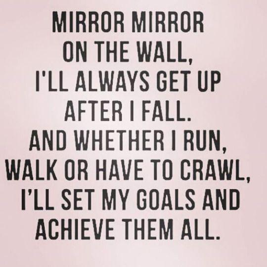 I will achieve them all.....