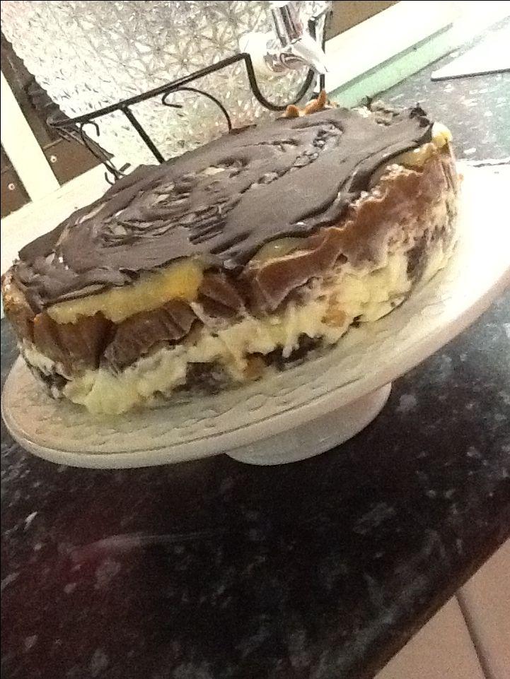 Fun cake  HAPPY BIRTHDAY MUM 😍😘😜🤑