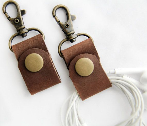 PAR de auriculares envuelve auricular soporte cuero por piprobins