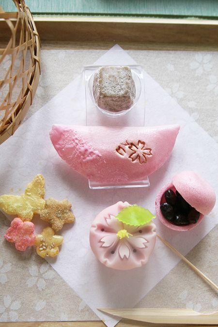 Japanese rice cakes