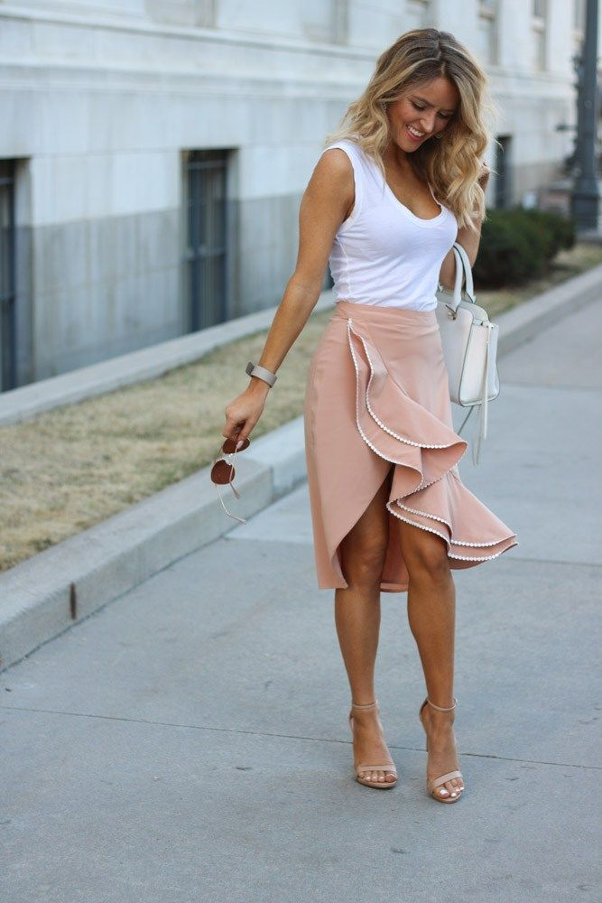 The Perfect Skirt for Spring// Aviators// Steve Madden Shoes//Rebecca Minkoff Bag// Every Once in a Style