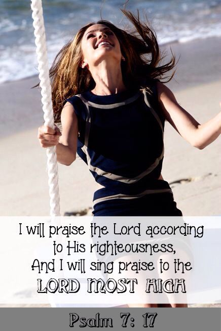 Let the shout of praise be heard for the Lord is mighty and His name is glorious.