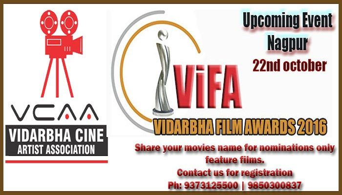 Chance to Get work with film stars in vidarbha level. Participate in contest becoming a member of association as per details given below visit our website or send your recording of dancing, singing,acting,modelling for audition to get chance to  participate in vidarbha level award function. http://www.vidarbhacine.com Interested candidates are invited to meet personally with Bollywood, Vollywood actors and know about the scope and career of the following courses related to Films and televis
