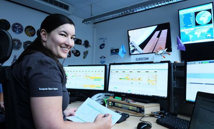 Stellar #career takes #Aussie engineer from #Adelaide to outer #space | Particle    On console at the Eurocom Control Room in Cologne