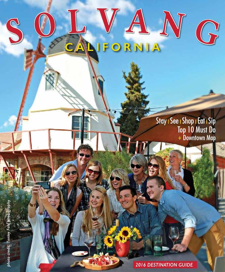 Solvang Santa Ynez Valley Visitors Guide 2016  Visit Solvang and the Santa Ynez Valley Visitors Guide 2016. Santa Barbara County Wine Country and the Danish Village of Solvang. Things to do, where to stay, where to wine and dine.