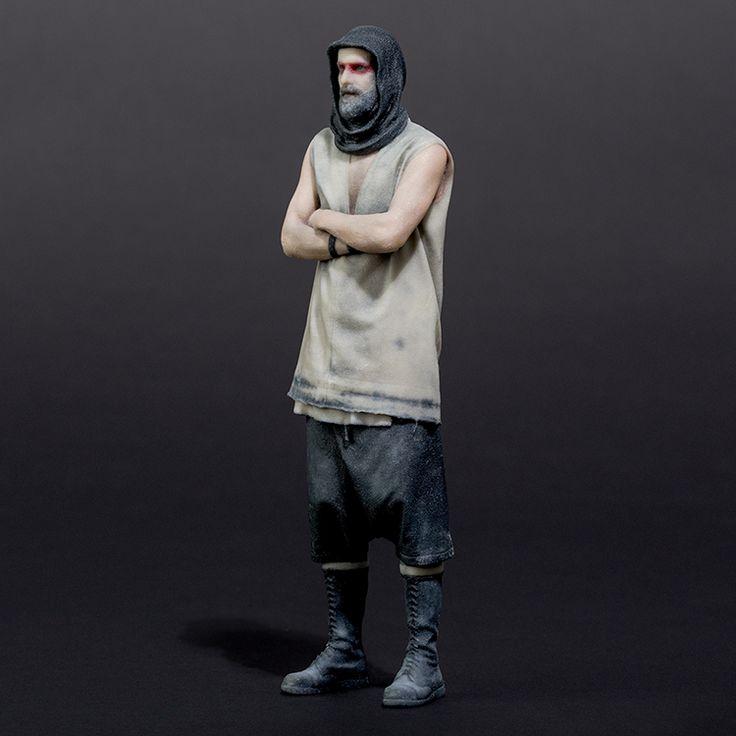3D Figur Oliver Riedel | Rammstein-Shop
