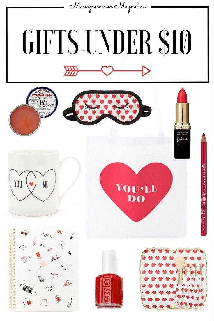 valentines gifts under 10