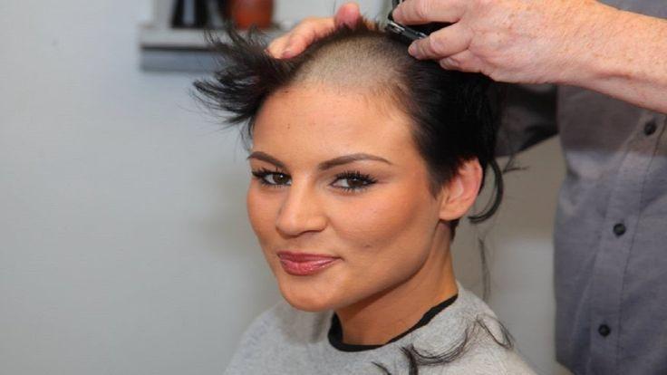 THE NEW Tutorial Headshave Short Bob Haircut with Bangs - I LOVE Bob Bar...