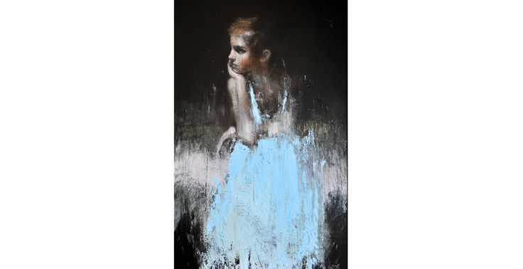 Renowned artist, Mark Demsteader, has created a stunning collection of portraits of Emma. **This is my fave among those portraits :)