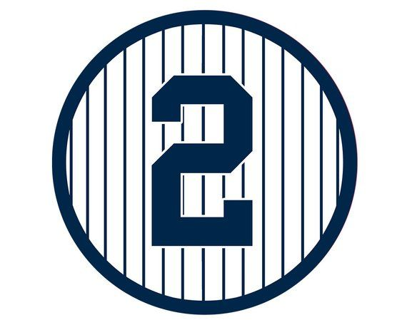 Derek Jeter Retired Number Digital Download New York Yankees 2