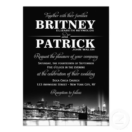 22 best NYC theme invites images – New York Party Invitations