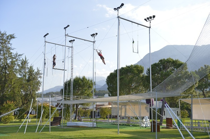 Palmiye, Turkey offers the flying trapeze academy with circus activities Included in every package! http://www.clubmed.se/cm/resort-palmiye-turkey-sports-activities_p-366-l-EN-v-PALC-r-4-d-000005-ac-vh.html