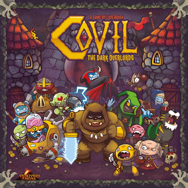 Covil: The Dark Overlords Board Game Review -
