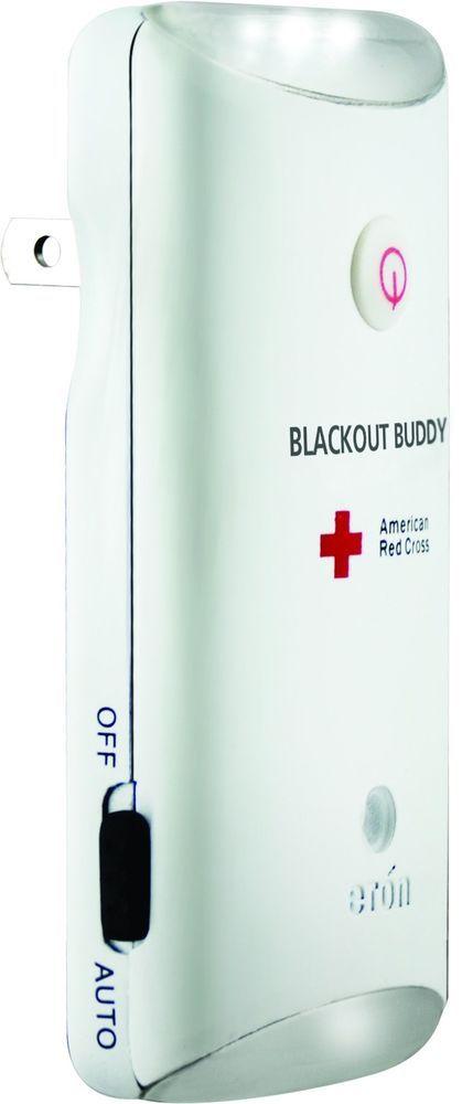 Emergency LED Flash Light The American Red Cross Alert Nightlight Auto Lights Up #Eton