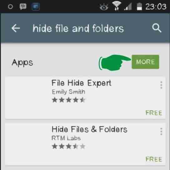 Menyembunyikan file di Android dengan File Hider Plus