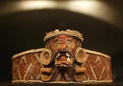 Belt. Taíno culture. Santo Domingo1492-1520 (Museum für Völkerkunde- Viena)