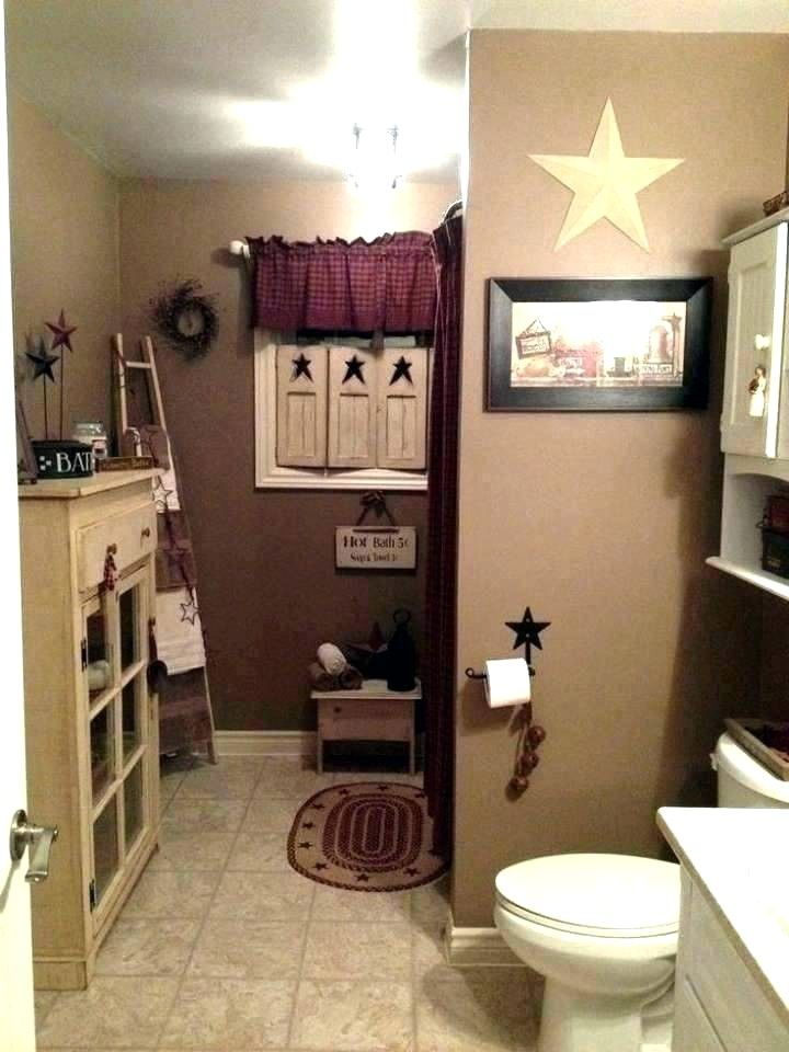 Rustic Bathroom Color Schemes In 2020 Country Bathroom Decor Bear Bathroom Decor Country Bathroom
