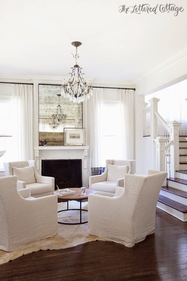 White and Beautiful Flooring. ༺༻ -  www.IrvineHomeBlog.com
