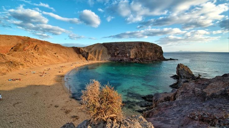 30 Breathtaking Cliffside Beaches (PHOTOS) | The Weather Channel  ...Lanzarote, Canary Islands