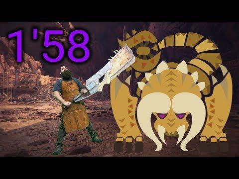 MHW] Diablos (1'58) Great Sword - YouTube | Monster Hunter World
